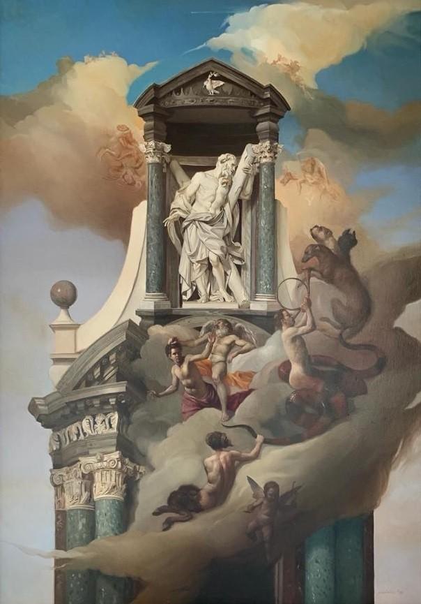 Giovanni Tommasi Ferroni - Allegoria Lataranense