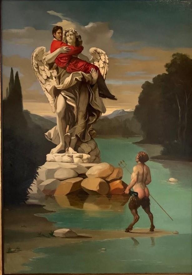 Giovanni Tommasi Ferroni - Autoritratto in Braccio