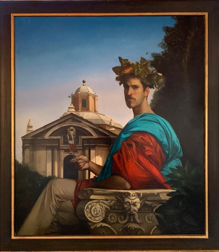 Giovanni Tommasi Ferroni - Autoritratto