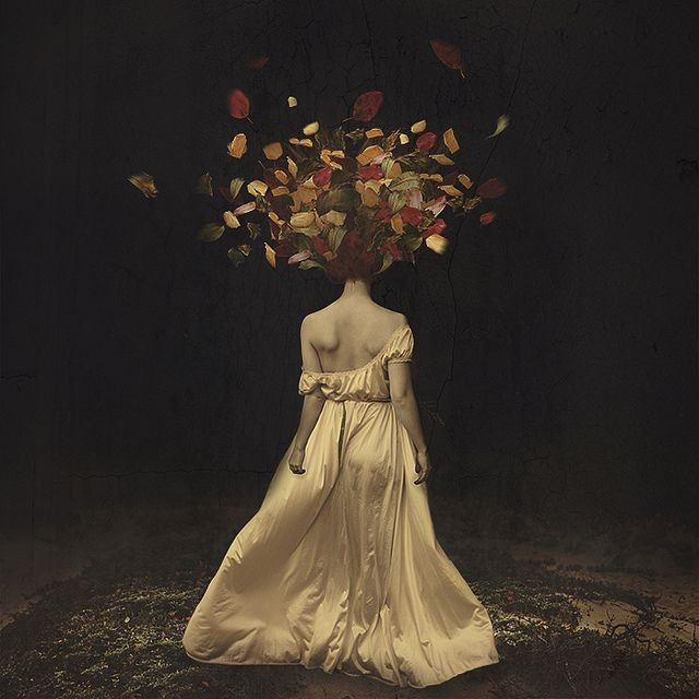 Brooke Shaden - The falling of autumn darkness