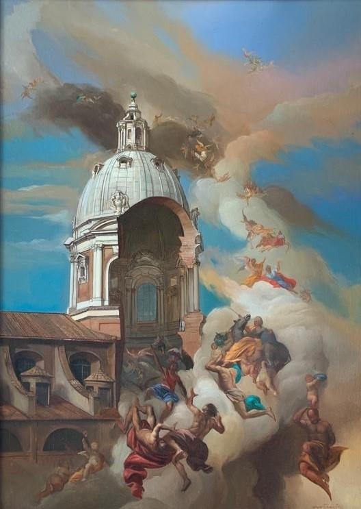 Giovanni Tommasi Ferroni - Fuga degli Affreschi da Ignazio