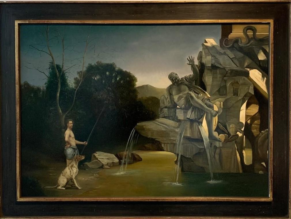 Giovanni Tommasi Ferroni - Pescatore sul Gange