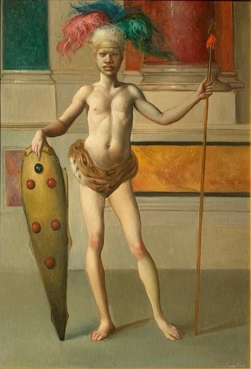 Giovanni Tommasi Ferroni - Ritrato Postumo di Benedetto