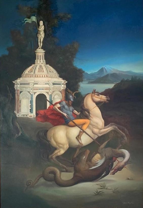 Giovanni Tommasi Ferroni - St. Giorgio e il Drago