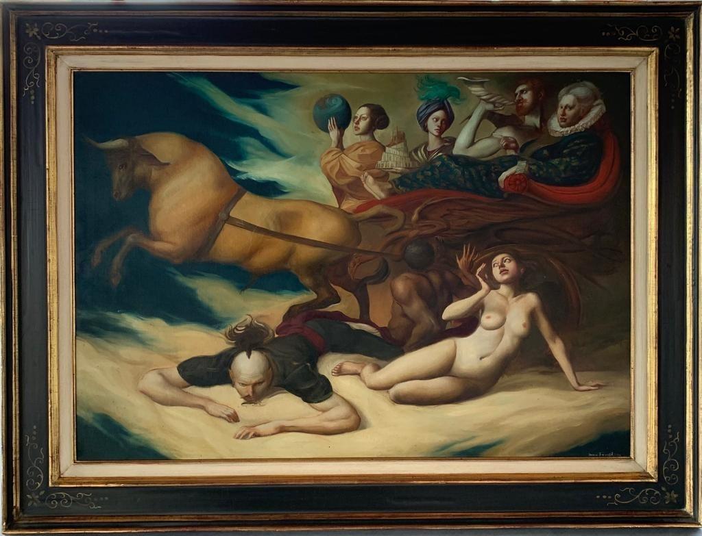 Giovanni Tommasi Ferroni - Studio per La Regina