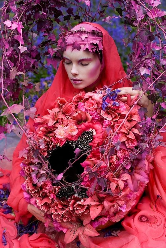 Kirsty Mitchell - The Beautiful Blindness of  Devotion