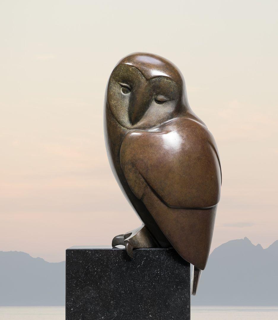 Evert den Hartog - Zittende uil no. 6