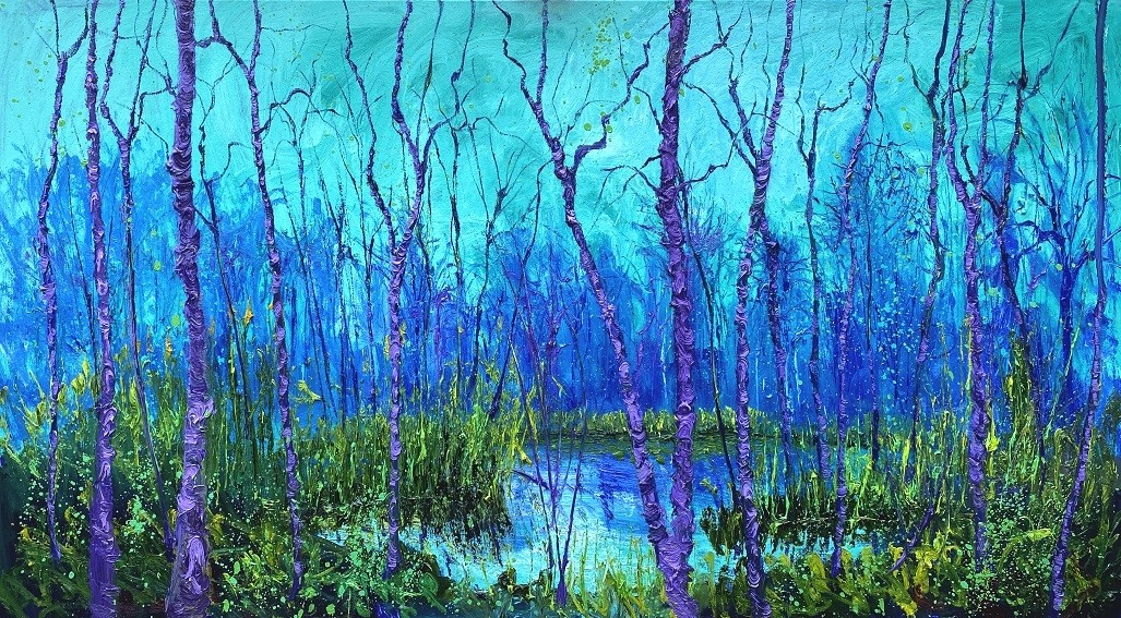 Gertjan Scholte-Albers | Blauw groene T