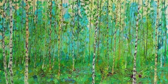 Gertjan Scholte-Albers   Forest L summer morning
