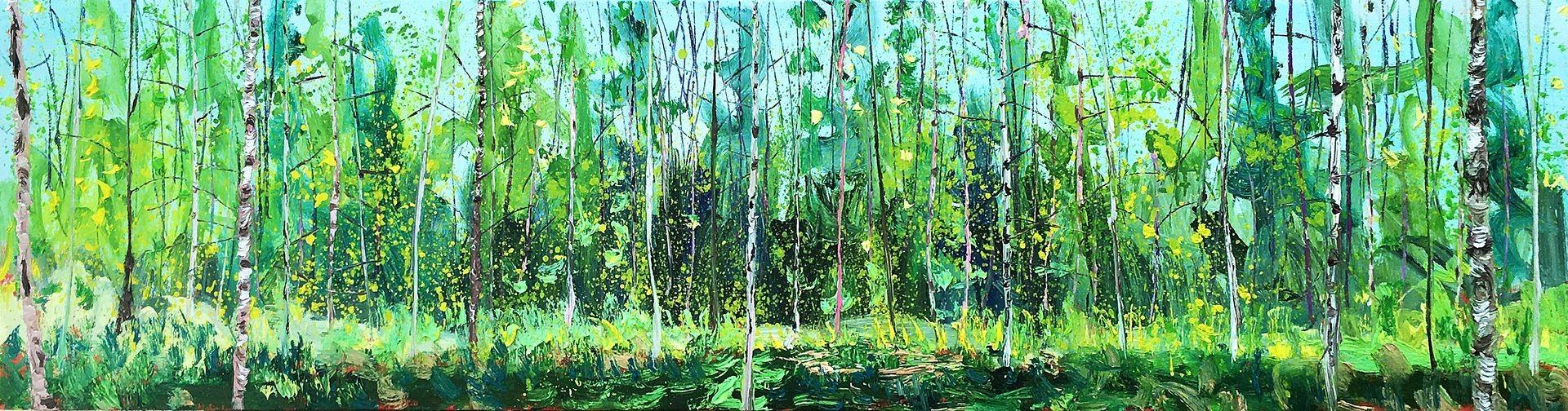 Gertjan Scholte-Albers   Panoramic Birch