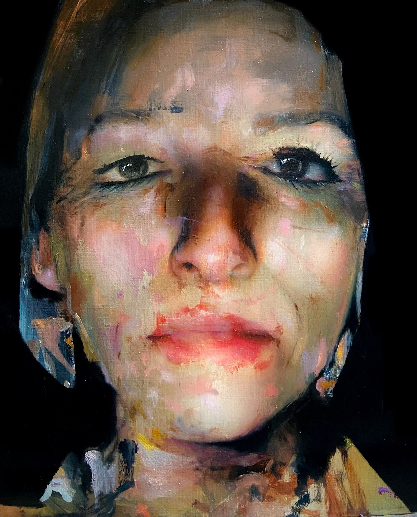 Caroline Westerhout | Closed eyes