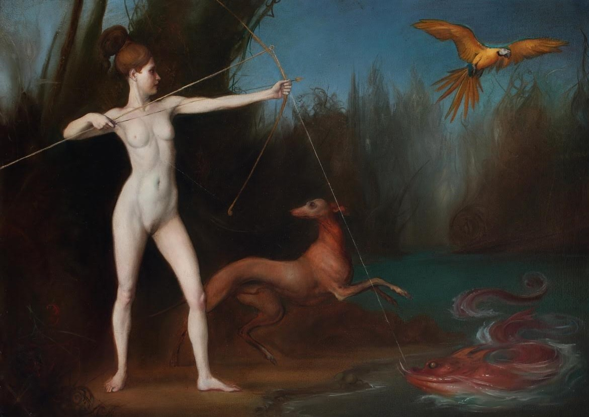 Giovanni Tommasi Ferroni | Diana caccia e pesca
