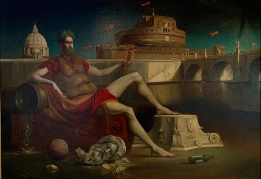 Giovanni Tommasi Ferroni - Divus Tiberinus