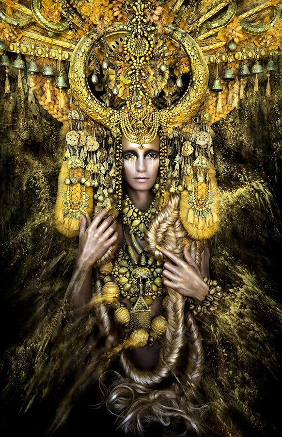 Kirsty Mitchell - Gaia, the Birth of an End