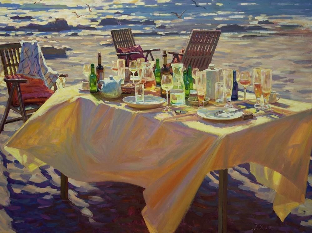 Juane Xue | Gouden zee