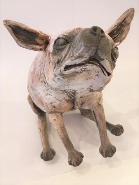 Peter Vanbekbergen | Hond zittend