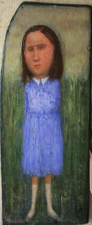 José van Kleef   Meisje met blauwe jurk