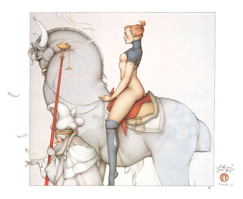 Michael Parkes - Jeanne d'Arc