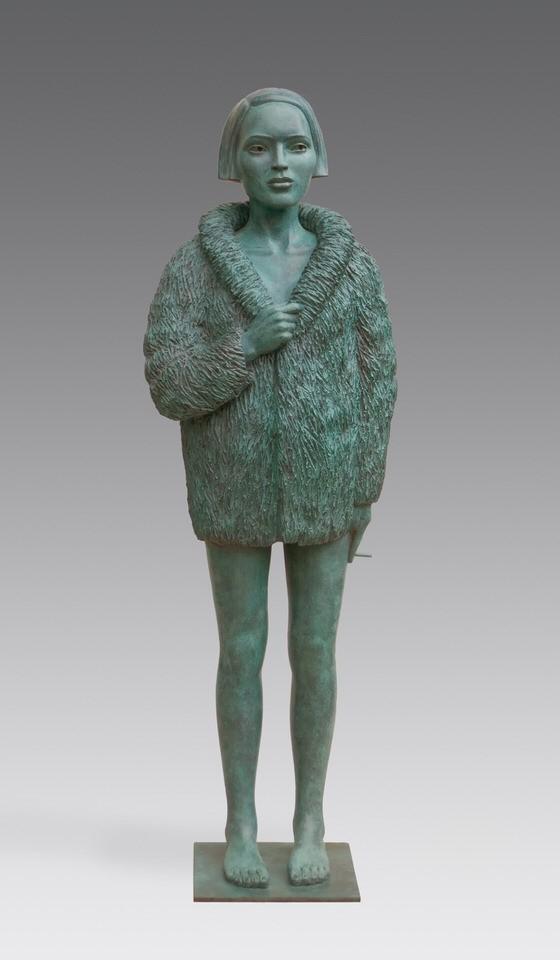 Erwin Meijer | Vrouw met bontjas