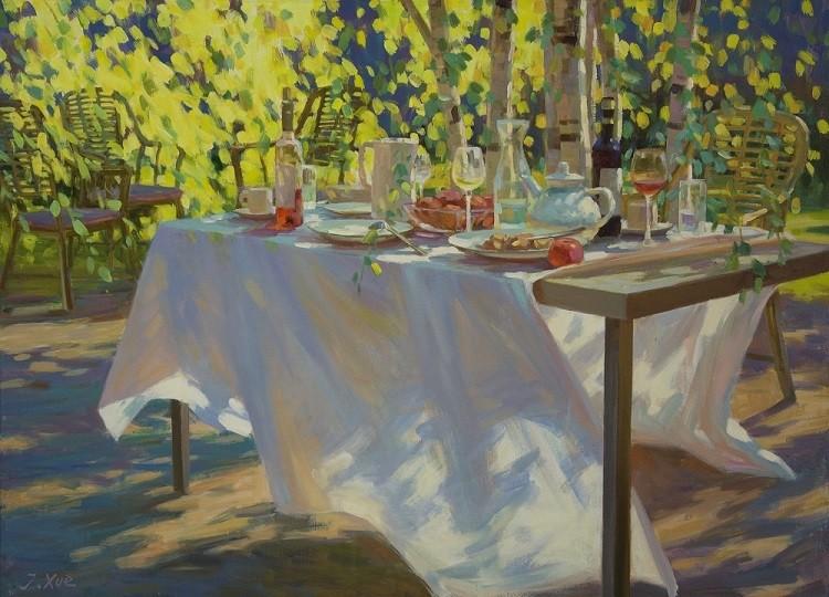 Juane Xue | Zonnige middag bij de Berken