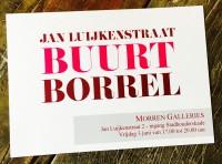 BUURTBORREL - Jan Luijkenstraat