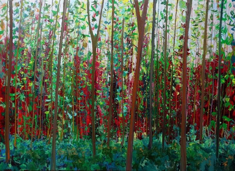Gertjan Scholte-Albers - Cadmium red background