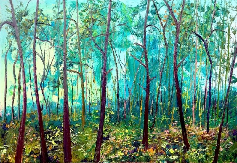 Gertjan Scholte-Albers - Viridian Fly Pines
