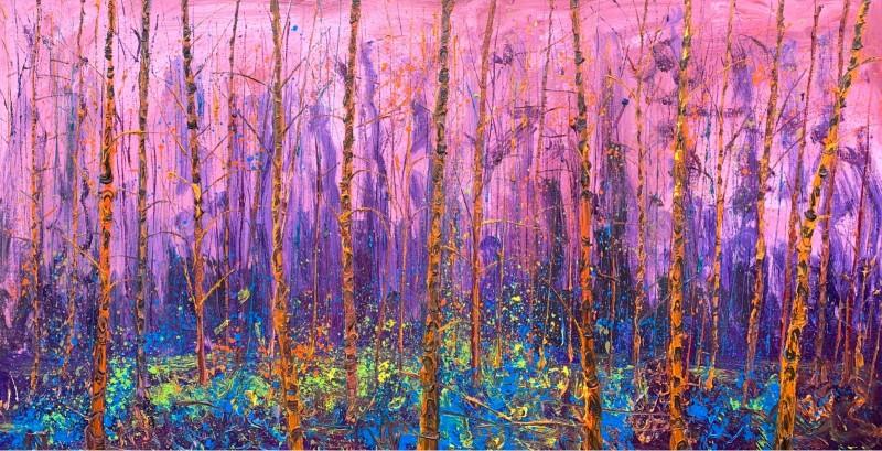 Gertjan Scholte-Albers - Orange birches