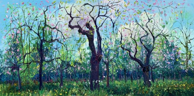 Gertjan Scholte-Albers - Bloei Appelbomen