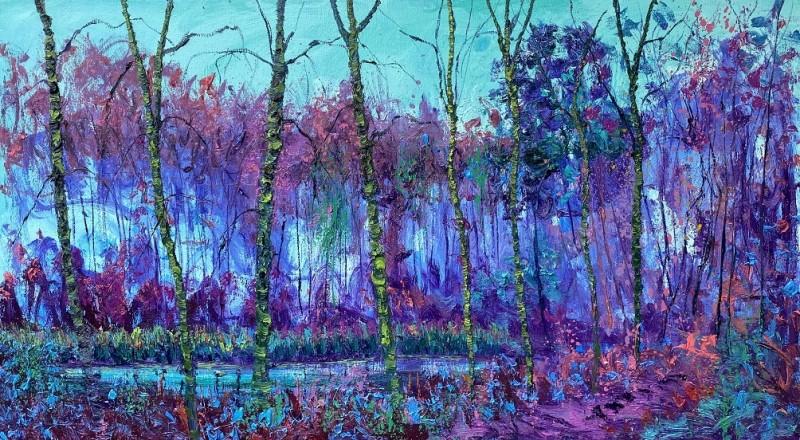Gertjan Scholte-Albers - Blue pond