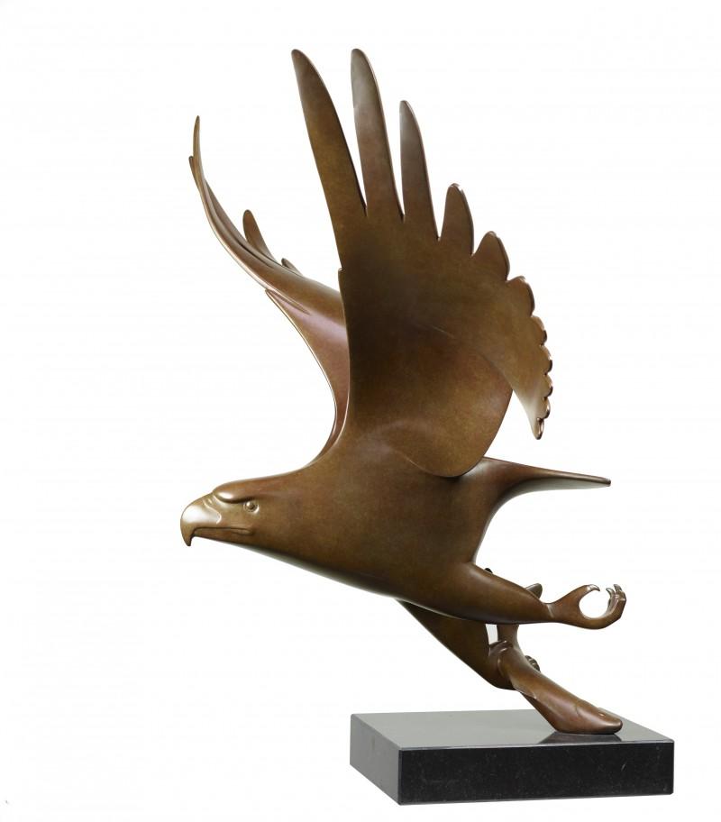 Evert den Hartog - Roofvogel met vis no 1