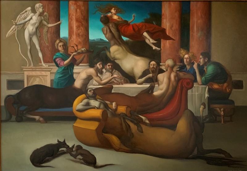 Giovanni Tommasi Ferroni - Alla Nozze di Piritoo (Study)