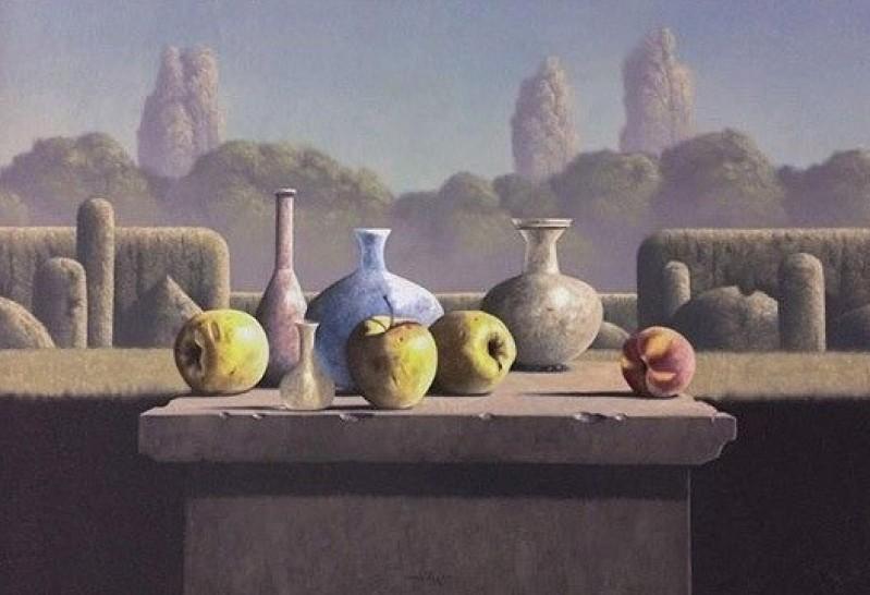 Victor Muller - Appels en Romeins glas