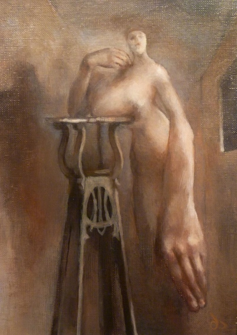 Cornelis Doolaard - Vrouw met hand