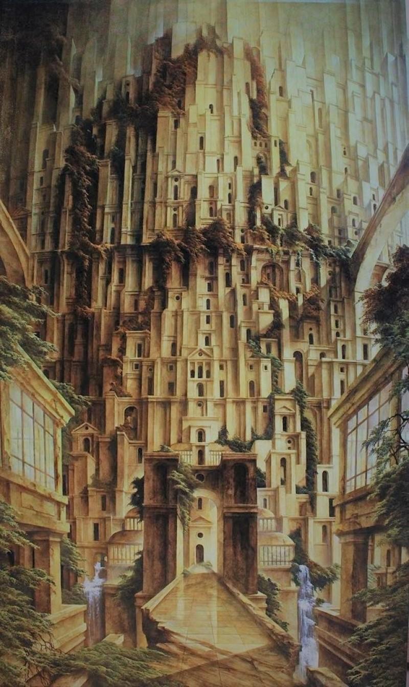 Paul Delmée - Babel II