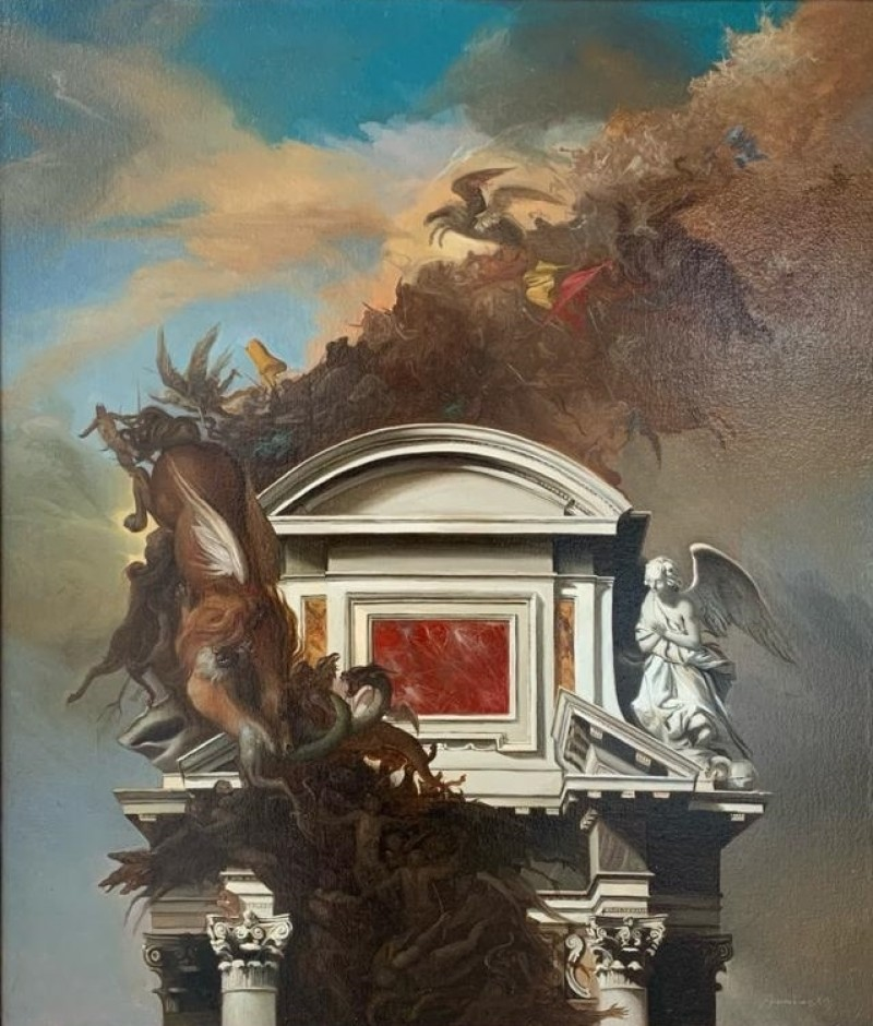 Giovanni Tommasi Ferroni - Bataglia Aerea