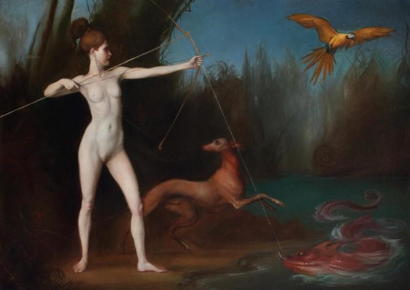 Giovanni Tommasi Ferroni - Diana caccia e pesca