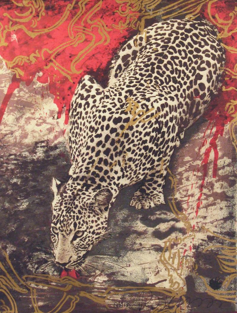 Bierenbroodspot - Drinking Leopard