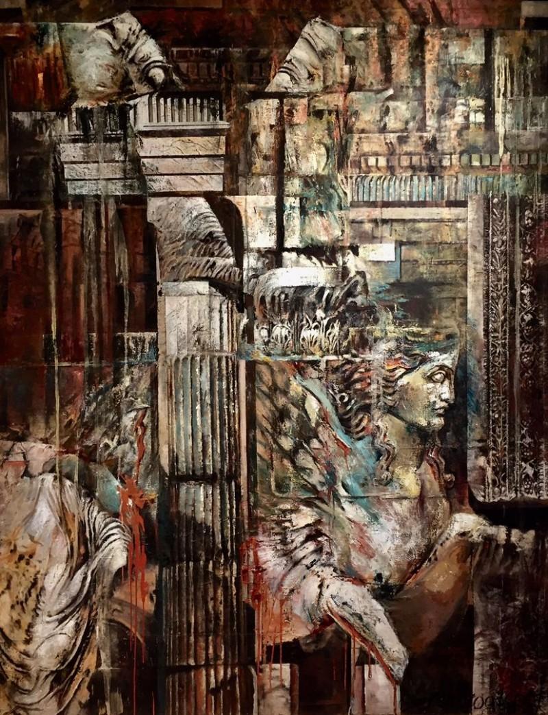 Bierenbroodspot - Baalbek Temple of Bacchus I : Sphinx