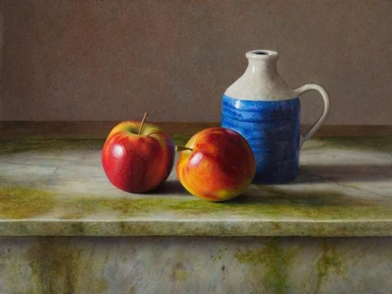 Herman Tulp - Appels op marmer