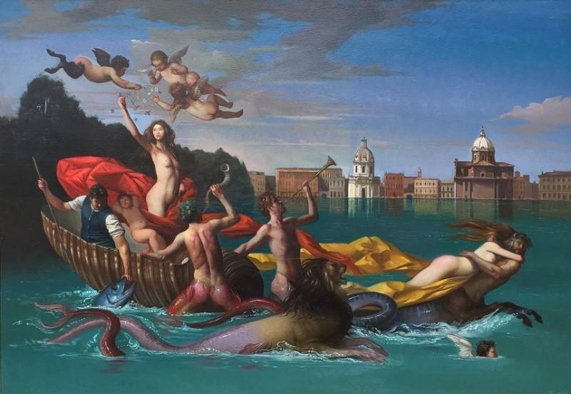 Giovanni Tommasi Ferroni - Il Trionfo di Galatea