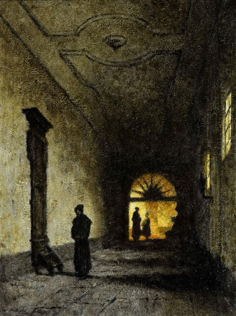 Walter Elst - Kloostergang (Bosboomvariant)