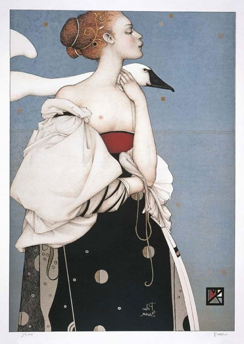 Michael Parkes - Pale Swan