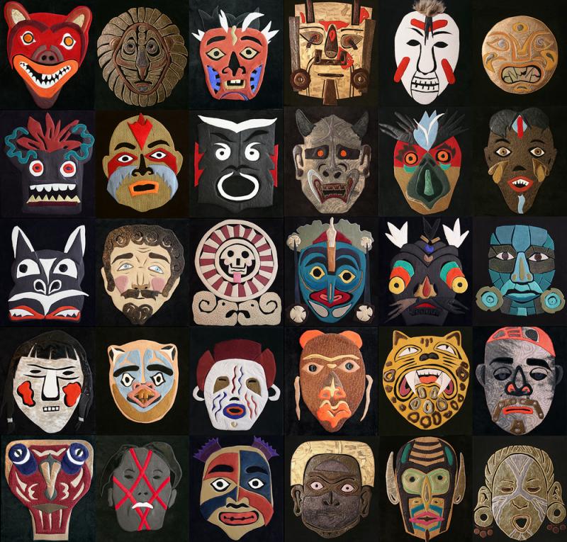 Fong Leng - Masks