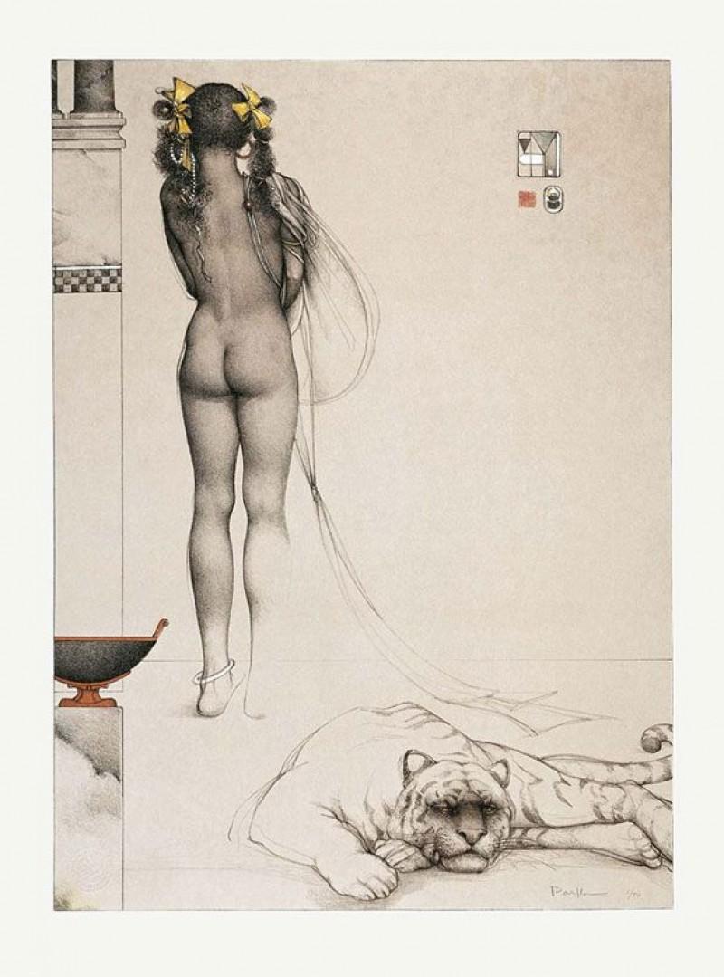 Michael Parkes - Nubian Girl