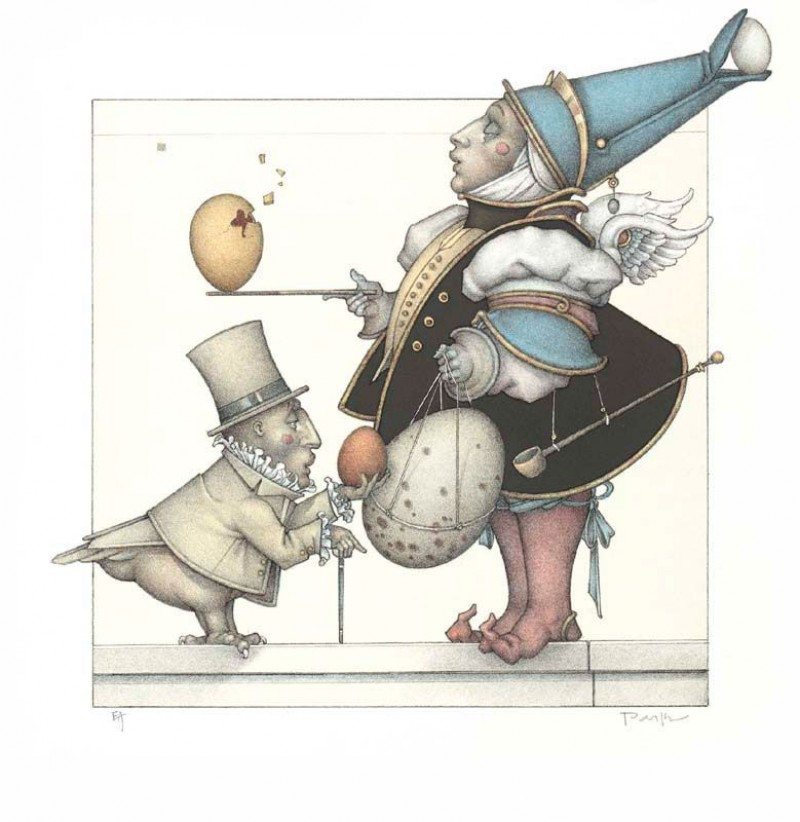 Michael Parkes - The Egg Collector