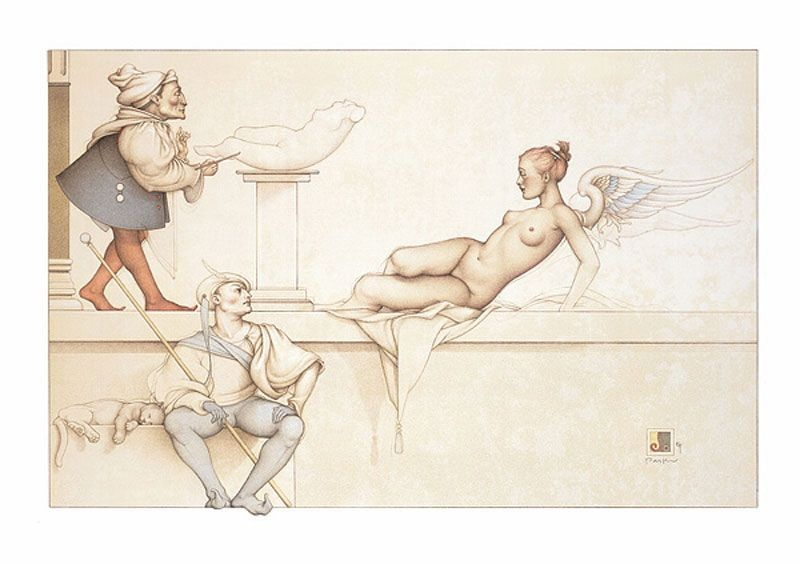 Michael Parkes - The Sculptor
