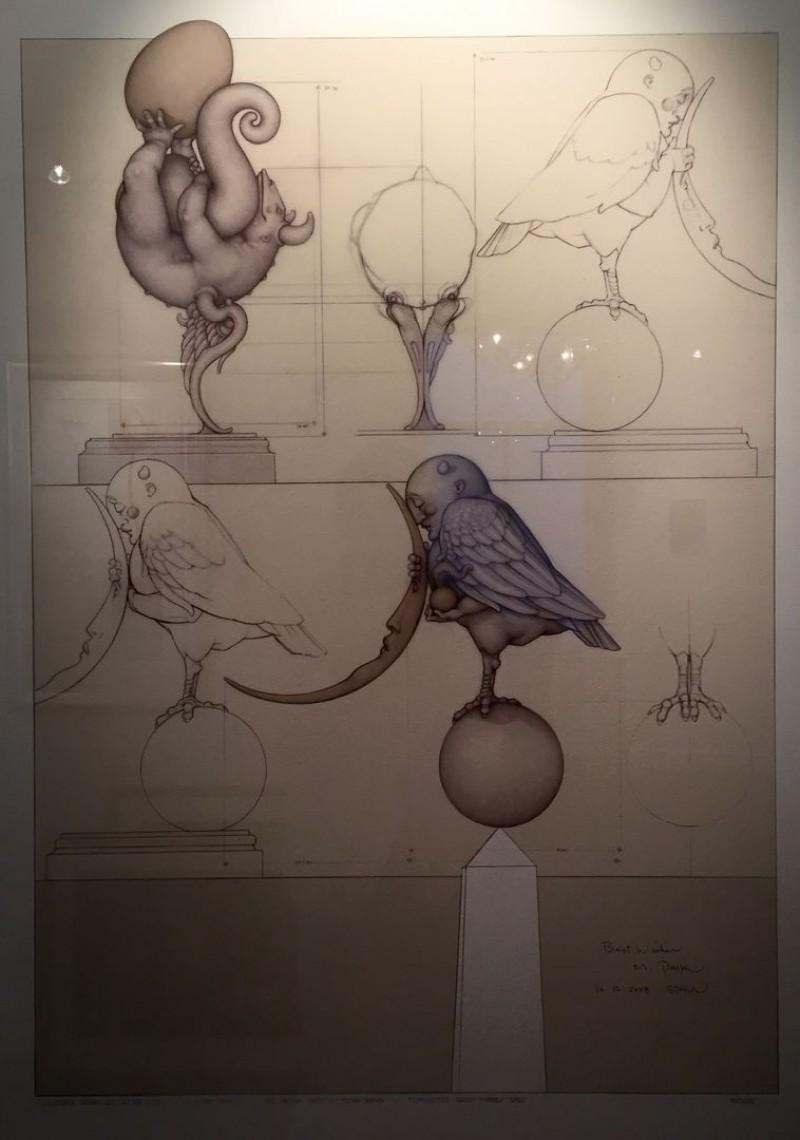 Michael Parkes - Moonbird