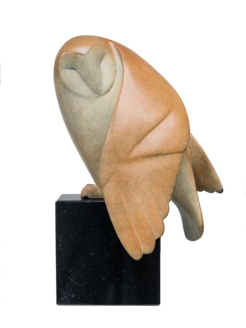 Evert den Hartog - Opkijkende uil no. 1