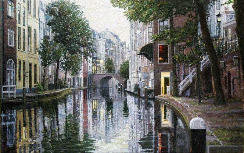 Willem van der Hofstede - Oudegracht Utrecht 1